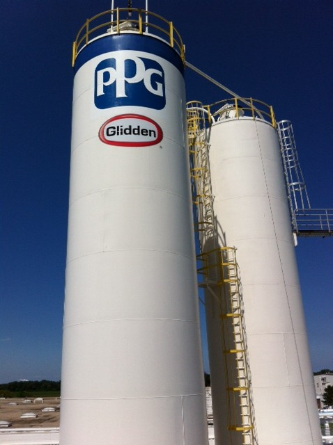 PPG Glidden Silo - Turman Commercial Painters